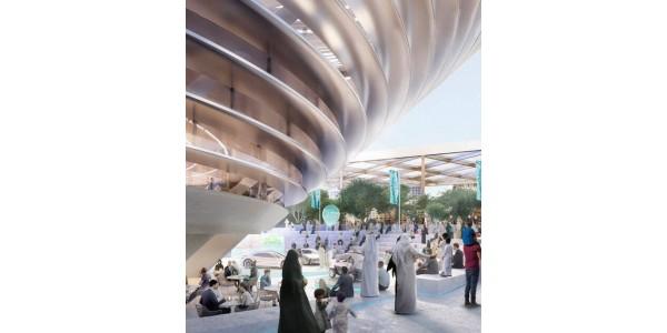 Ukraine Pavilion on the Expo2020 Dubai (UAE)