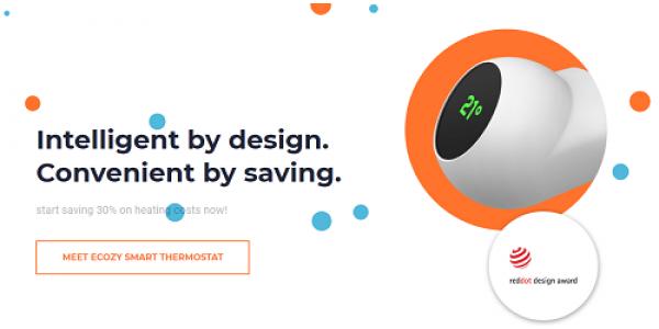 eCozy - smart thermostat for water-radiators